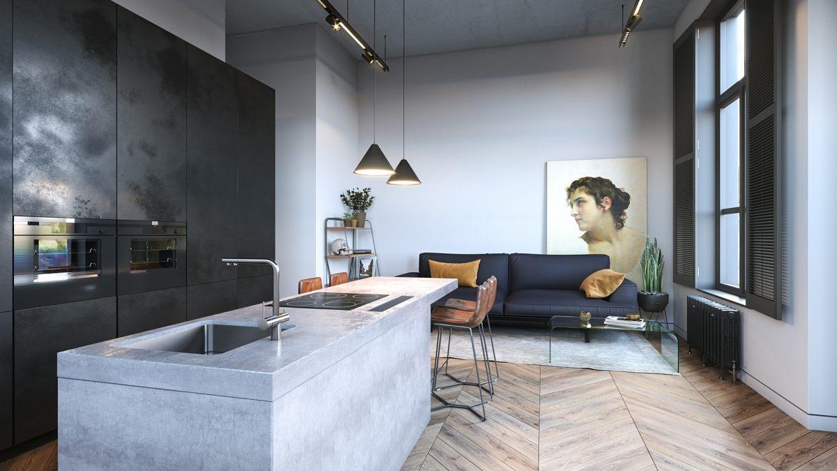 MCK architectuur De van Speykstraat 149 te rotterdam appartement 12